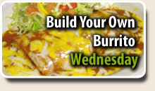 Build your Own Burrito's